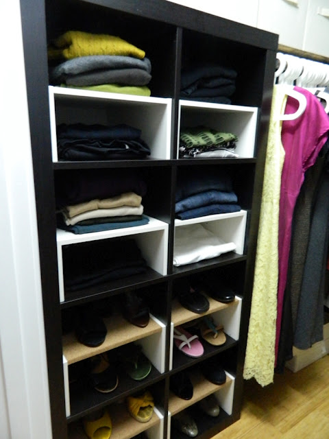 closet inserts for shoes