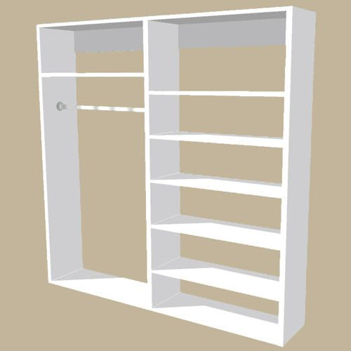 closet organizers from menards
