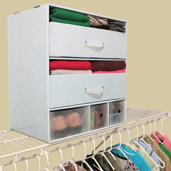 closet organizers storage boxes