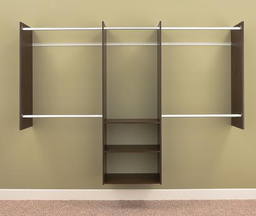 closet shelving systems menards