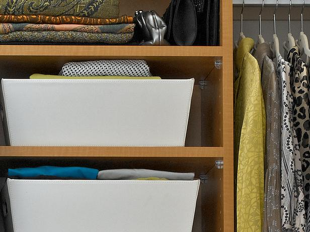 closet storage bins and baskets