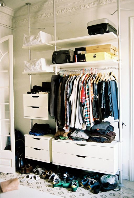 closet system from ikea