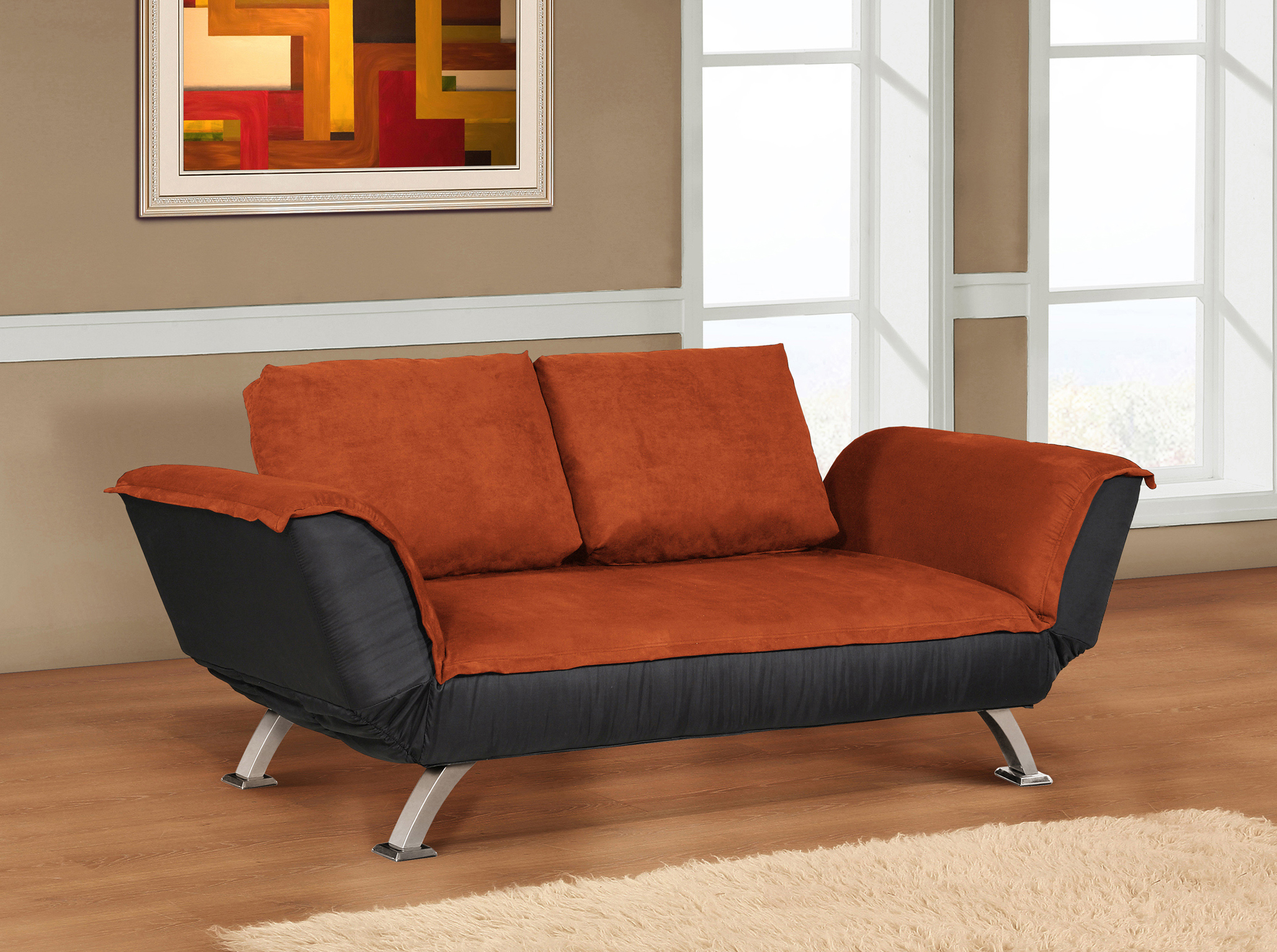 Convertible Loveseat Sofa Bed With Chaise Couch Sofa Ideas Interior Design