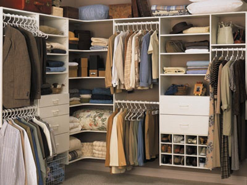 corner closet organization ideas