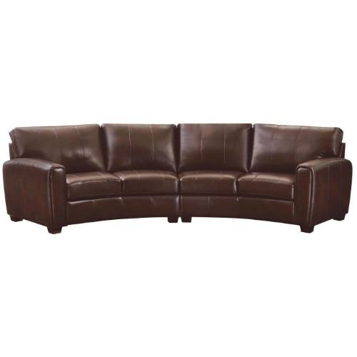 Curved Couches Leather