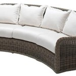 : curved sofa patio furniture