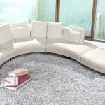 : curved sofa sectional modern