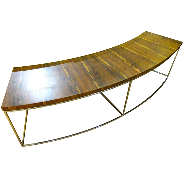 Curved Sofa Table