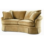 : curved sofa thomasville