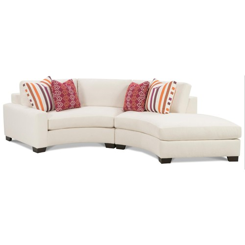 Curved Sofa With Chaise