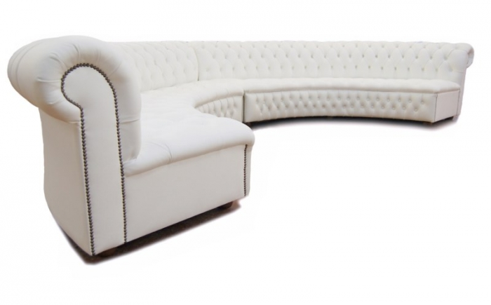 Curved White Couch Sofa Ideas