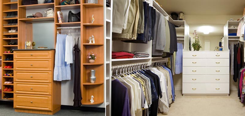 custom closet design costs