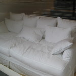 : deep seated sectional couch