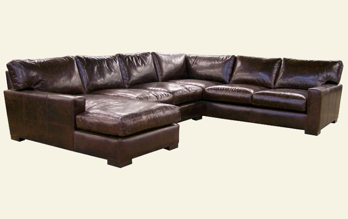 Deep Seated Leather Sectional Sofas Sofa Ideas