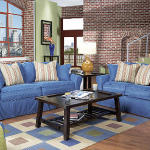 : denim couch rooms to go