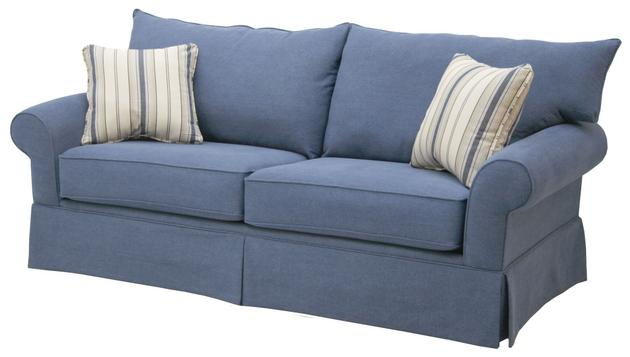 Denim Covered Couches