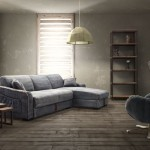 : denim reclining sofa