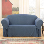 : denim slipcovers couches