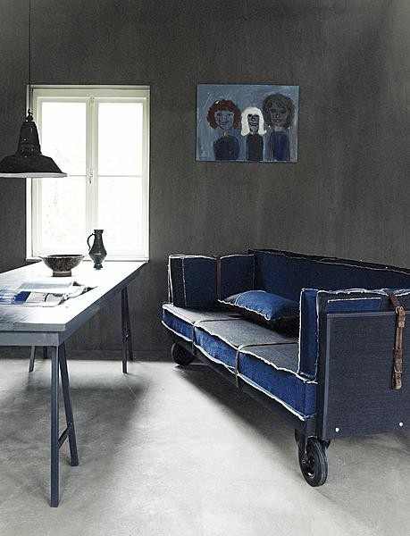 Denim Sofa Ideas