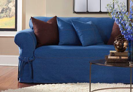 Denim Sofa Slipcover Sure Fit