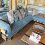 : denim sofas and sectionals