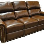 : distressed leather sofa recliner