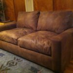 : distressed leather sofa restoration hardware