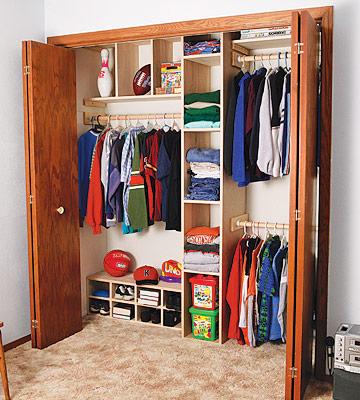 diy wood closet organizer plans