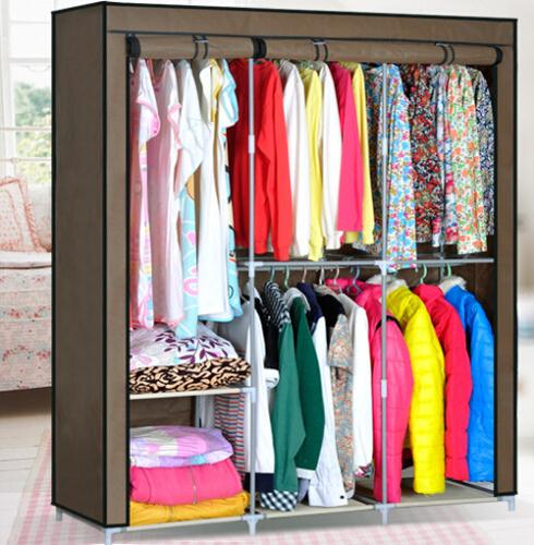 essential home portable clothes closet
