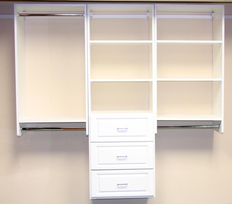 extra shelves for closet organizer