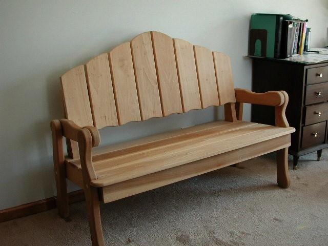 free indoor wood bench plans