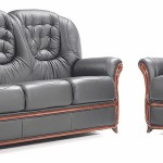 : genuine leather sofa on sale