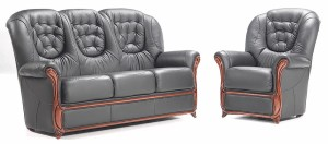 genuine leather sofa on sale