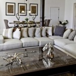 : gray leather sofa ideas