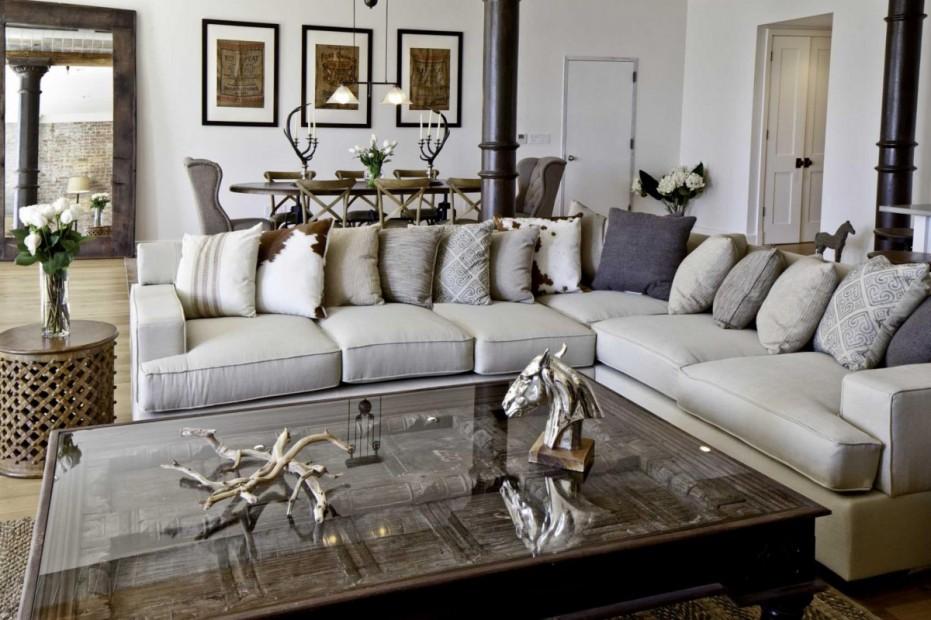 gray leather sofa ideas