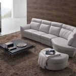 : grey leather sofa set