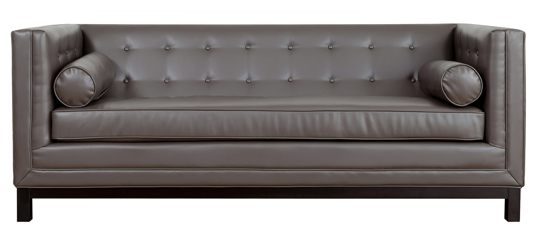 Groovy Grey Leather Tufted Sofa Couch Sofa Ideas Interior Interior Design Ideas Gentotthenellocom