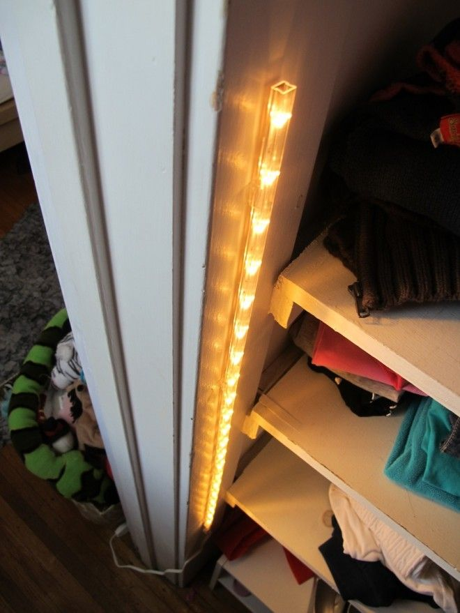hardwired led closet light