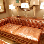 : how to cover worn leather sofa