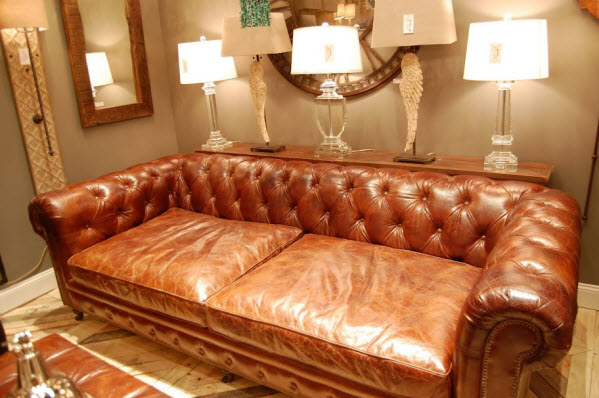 How To Cover Worn Leather Sofa