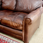 : how to repair worn leather sofa