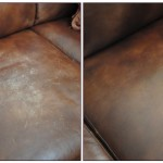 : how to restore worn leather sofa