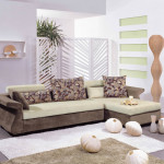 : l shaped couch small living room