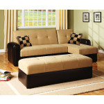 : lakeland convertible loveseat sofa bed with chaise
