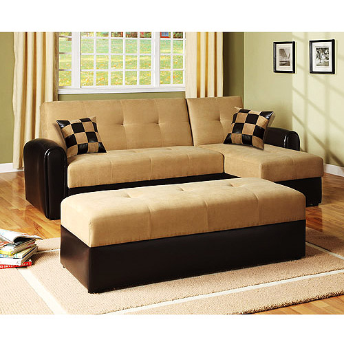 lakeland convertible loveseat sofa bed with chaise