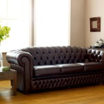 : leather chesterfield sofa bed sale