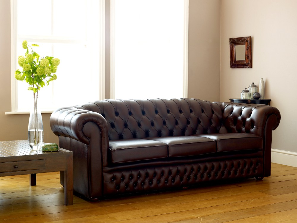 Leather Chesterfield Sofa Bed Sale
