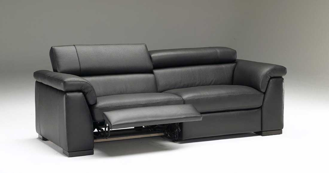 Leather Couch Loveseat Recliner