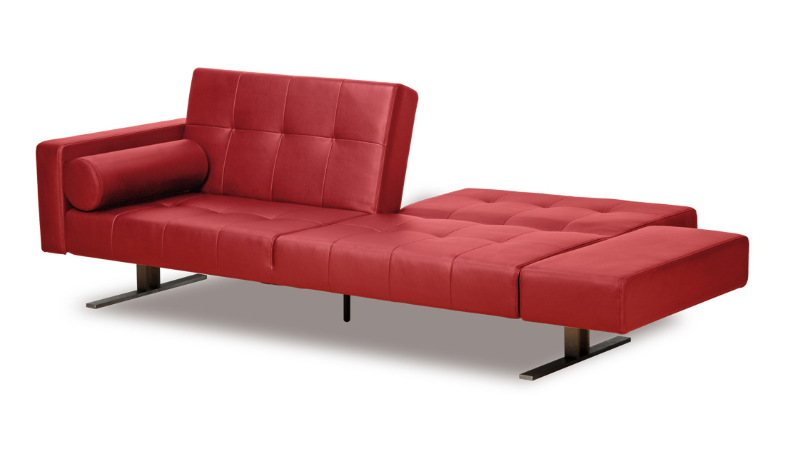 Leather Couch With Sleeper