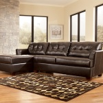 : leather sectional sleeper sofa chaise